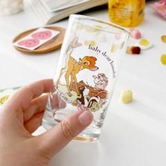 모애 레트로감성 홈카페 디자인 아기사슴 밤비D 유리컵