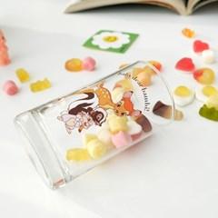 모애 레트로감성 홈카페 디자인 아기사슴 밤비C 유리컵