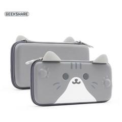 닌텐도 스위치 고양이귀 휴대용 파우치 (두께 4cm)