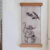 호작도 노방 포스터(The Painting of a Tiger and a Magpie)