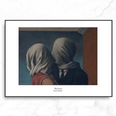 인테리어 액자 르네 마그리트 The Lovers_(2578156)