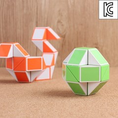 트위스트 매직 큐브 퍼즐/두뇌발달 스네이크큐브