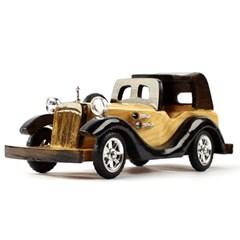 앤틱 원목 자동차모형 25cm 수제작제품 모형완구
