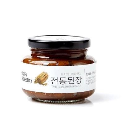 키친웬즈데이 전통된장 안동콩 전통발효 된장 250g