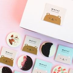 [발렌타인데이]초코곰 바크 초콜릿만들기 DIY 세트 초콜렛