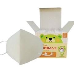 국산 유아 어린이 마스크 KC마크 소형 새부리형 30매