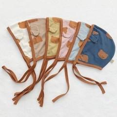 임) 큰곰돌이 베이비 모자
