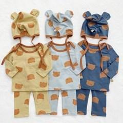 임) 큰곰돌이 베이비 세트(모자별도구매)
