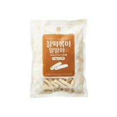 [추억의 국민학교 떡볶이] 국떡 찰떡볶이 알알이 L 500g