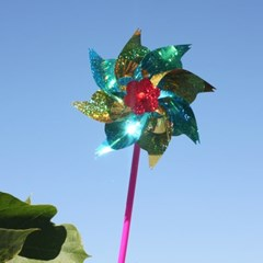 반짝반짝 날아라 바람개비/축제 행사 판촉 홍보 교구 캠핑용품