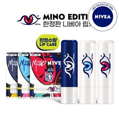 니베아 마이노 에디션 립케어 립밤 4.8g 3종세트 x 1개