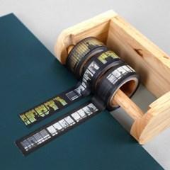 서울 디자인 테이프_서울/경성/한양의 빛 15mm 마스킹테이프