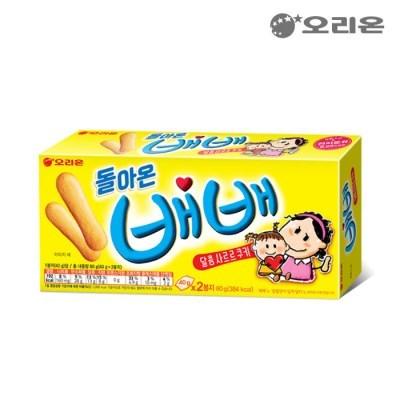 오리온 돌아온 배배 80gX20개