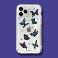 범퍼클리어 케이스 - 나비(Butterfly)