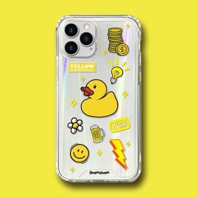 범퍼클리어 케이스 - 옐로우(Yellow)