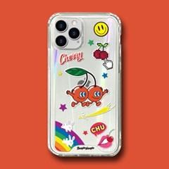 범퍼클리어 케이스 - 체리(Cherry)