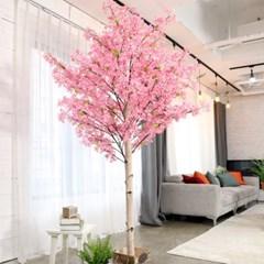 인조나무 인테리어 조화 라일락나무 230cm 핑크_(2310117)