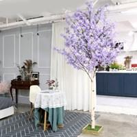 인조나무 인테리어 조화 라일락나무 230cm 퍼플_(2310115)