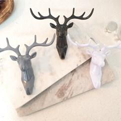 다양한 소품을 걸수있는 세련된 디자인의 북유럽풍 사슴 후크