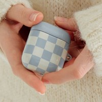 Tile Airpodcase_Baby Blue