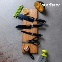 뉴트리스타 스텐레스 코팅 칼 중식도 과도 감자칼 가위 5종 세트