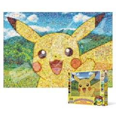 500피스 직소퍼즐 - 포켓몬 피카츄 (큰조각 모자이크)