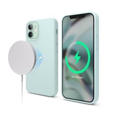 엘라고 아이폰12 미니 맥세이프 실리콘 케이스