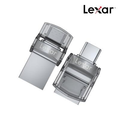 [렉사] Lexar Dual Drive D35c Type-C OTG USB 3.0 64GB_(1232234)