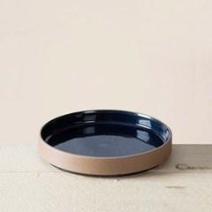 순수화 일자 찬기(블루)(15cm)