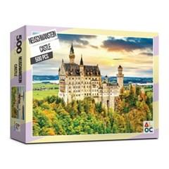 (알록퍼즐)500피스 노이슈반스타인 성 직소퍼즐 AL5008_(1653008)