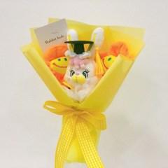 미니 학사모 리코 인형 꽃다발