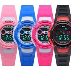 피닉스 어린이 방수전자시계 손목시계 LS-1059A(방수)