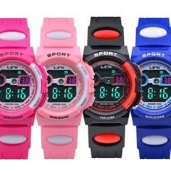 피닉스 어린이 방수전자시계 손목시계 LS-1506A(방수)
