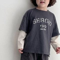 고) 세르지오 아동 티셔츠-주니어까지