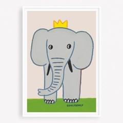 굴리굴리 포스터 BIG ELEPHANT (074)
