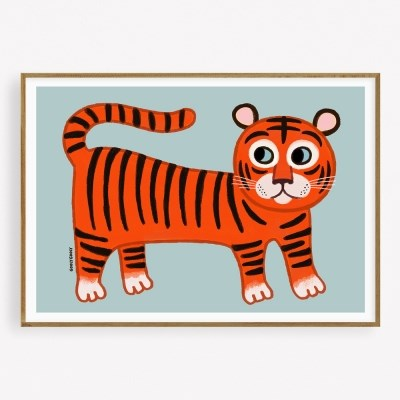 굴리굴리 포스터 TINY TIGER (073)