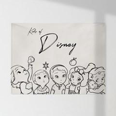 인테리어 패브릭 포스터_Kids_of_disney