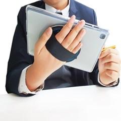 핸즈플렉스 샤인실버 아이패드 8세대 갤럭시 탭 360도 회전 태블릿