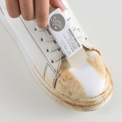 휴대성이 좋고 물없이 사용하는 가죽 신발 오염 지우개