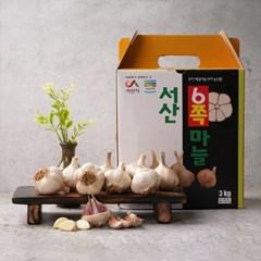 [농사랑]서산 6쪽 마늘 3kg (특)