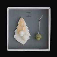 wax tablet & candle _ 신갈나무