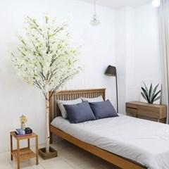 인조나무 인테리어 조화 라일락나무 190cm 화이트_(2311317)