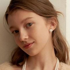 [수지,이주빈,승희 착용][Silver925] Ameli Heart Earring_EC1689
