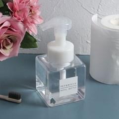 버블폼 거품 욕실디스펜서 휴대용 리필 펌프용기