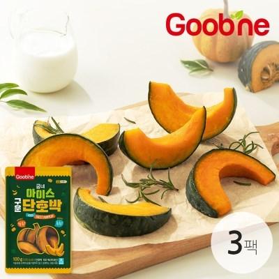 굽네 아이스 구운 단호박 3팩 / 달콤촉촉