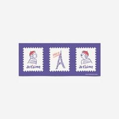 러브파리 스티커(3장,낱개로 9개)