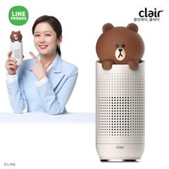 [텐바이텐 단독] 클레어 라인프렌즈 브라운 차량용 공기청정기