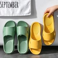 [1+1 무료배송] 발을 감싸주는 레터링 EVA욕실화 슬리퍼 6color