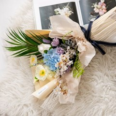 블랜엔틱꽃다발 50cmP 조화 꽃다발 선물 FMBBFT