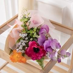 스위트믹스꽃다발 45cmP 조화 꽃다발 선물 FMBBFT